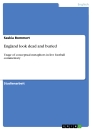 Titel: England look dead and buried