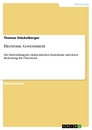 Titel: Electronic Government