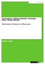 Titel: Information Systems in Museums