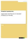 Titel: Approaches and Theories to standard setting in Accounting