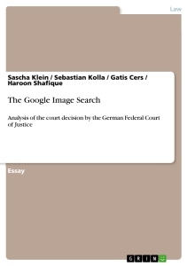 Titel: The Google Image Search