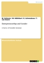 Titel: Entrepreneurship and Gender
