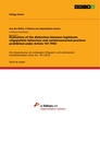 Titel: Evaluation of the distinction between legitimate oligopolistic behaviour and cartels/concerted practices prohibited under Article 101 TFEU