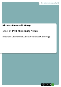 Titel: Jesus in Post-Missionary Africa