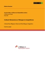 Titel: Cultural Dimensions of Mergers & Acquisitions