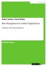 Titel: Risk Management in Global Organizations