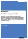 Titel: Speech and Language Disorders