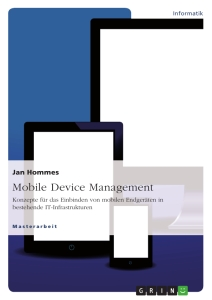 Titel: Mobile Device Management