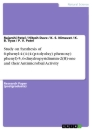 Titel: Study on Synthesis of 6-phenyl-4-(4-(4-(p-tolyolxy) phenoxy) phenyl)-5, 6-dinydropyridinmin-2(H)-one and their Antimicrobial Activity