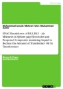 Titel: HVAC Breakdown of R12, R12 – Air Mixtures in Sphere gap Electrodes and Proposed Composite insulating Liquid to Reduce the Amount of Transformer Oil In Transformers