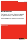 Titel: The Race to the Bottom Hypothesis applied to Spatial Planning in the Swiss cantons