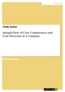 Titel: Integral View of Core Competences and Core Processes in a Company