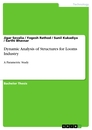 Titel: Dynamic Analysis of Structures for Looms Industry
