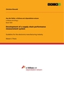 Titel: Development of a supply chain performance measurement system