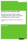 Titel: Regulation Of Grid Voltage using an integrated Wind-PV system as STATCOM in Distributed Generation systems.