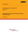 Titel: The Market for Corporate Control.The Theory and the Empirical Evidence