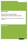 Titel: Systematisierung zum Thema High-Intensity-Training (Meta-Analyse)