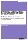 Titel: Production of olefins via oxidative de-hydrogenation of C3‒C4 fraction by O2 over (Cr‒Mo)SiO2