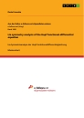 Titel: Lie symmetry analysis of the Hopf functional-differential equation