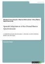 Titel: Spanish Adaptation of the Prasad-Baron Questionnaire