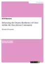 Titel: Enhancing the Disaster Resilience of Cities within the East African Community
