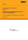 Titel: The Influence of Top-Management Characteristics on Corporate Credit Risk Measures