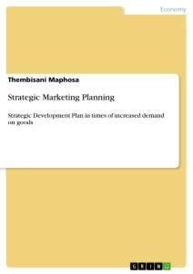 Titel: Strategic Marketing Planning
