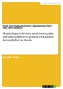 Titel: Morphological diversity, nutritional quality and value addition of jackfruit (Artocarpus heterophyllus) in Kerala