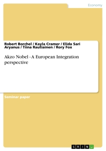 Titel: Akzo Nobel - A European Integration perspective