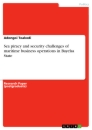 Titel: Sea piracy and security challenges of maritime business operations in Bayelsa State