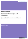 Titel: Quantitative Datenanalyse in R - Allbusstudie