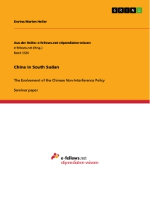 Titel: China in South Sudan