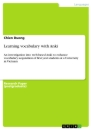 Titel: Learning vocabulary with Anki
