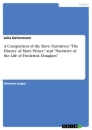 "Titel: A Comparison of the Slave Narratives ""The History of Mary Prince"" and ""Narrative of the Life of Frederick Douglass"""