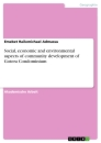 Titel: Social, economic and environmental aspects of community development of Gotera Condominium