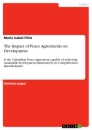 Titel: The Impact of Peace Agreements on Development