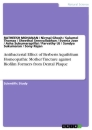 Titel: Antibacterial Effect of Berberis Aquifolium Homeopathic Mother Tincture against Biofilm Formers from Dental Plaque