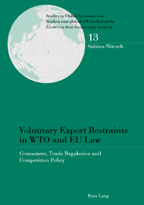 Title: Voluntary Export Restraints in WTO and EU Law