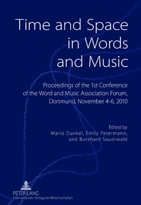 Title: Time and Space in Words and Music