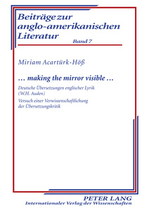 Title: … making the mirror visible …