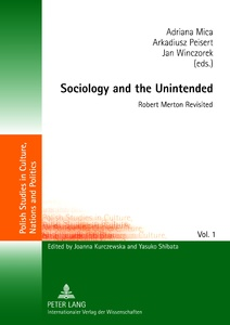 Title: Sociology and the Unintended