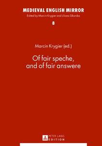 Title: Of fair speche, and of fair answere