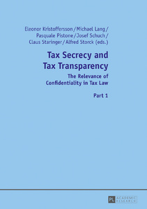 Title: Tax Secrecy and Tax Transparency