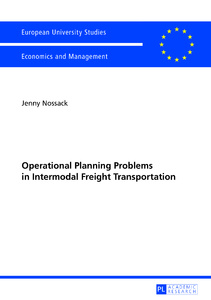 Title: Operational Planning Problems in Intermodal Freight Transportation