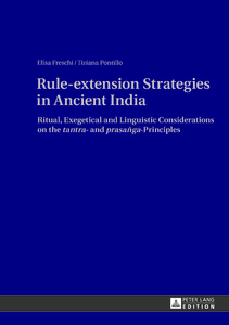 Title: Rule-extension Strategies in Ancient India