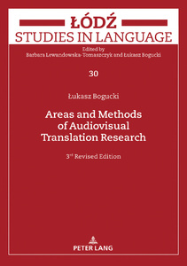 Title: Areas and Methods of Audiovisual Translation Research