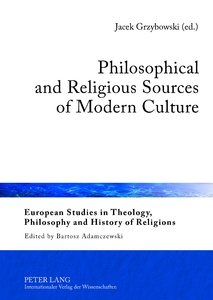 Title: Philosophical and Religious Sources of Modern Culture