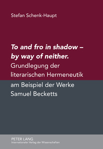 Title: To and fro in shadow – by way of neither