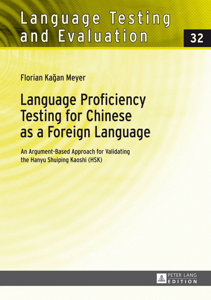 Title: Language Proficiency Testing for Chinese as a Foreign Language