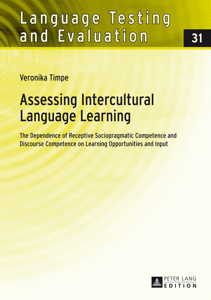 Title: Assessing Intercultural Language Learning